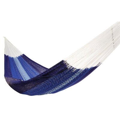 Lisa Double Tree Weaving Blue/White Hammock