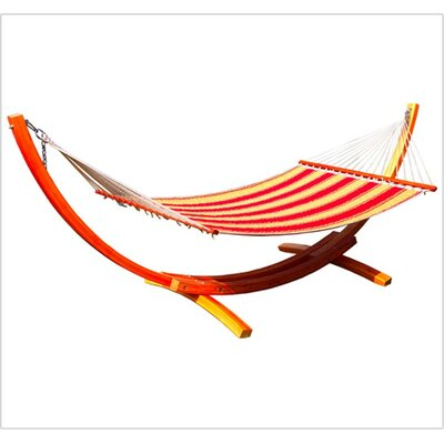 Mererid Quilted Striped Tree Hammock