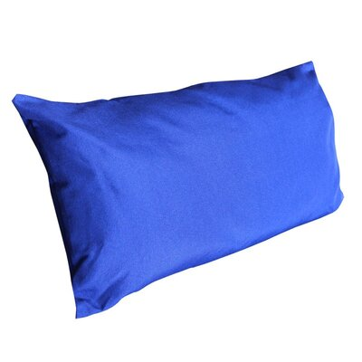 Kiana Fabric Pillow/Cushion Color: Blue, Size: 13 H x 28 W