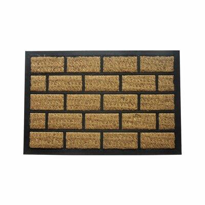 Samuels Brickhouse Doormat Rug Size: 16 x 26