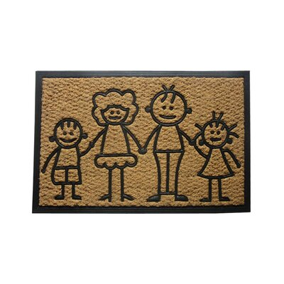 Sandy Family First Doormat