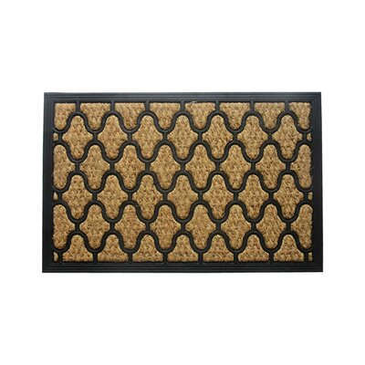 Schooner Lattice Doormat Rug Size: 14 x 24