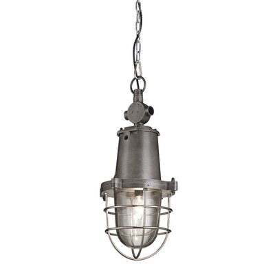 Nil Industrial 1-Light Mini Pendant