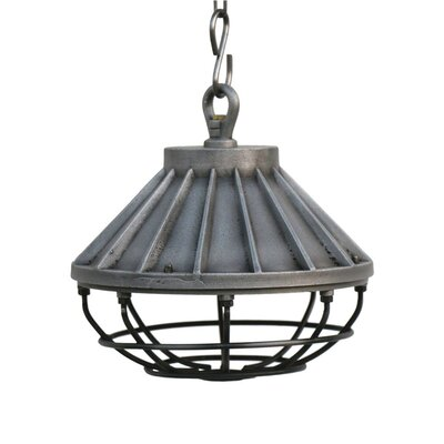 Masha Industrial 1-Light Foyer Pendant