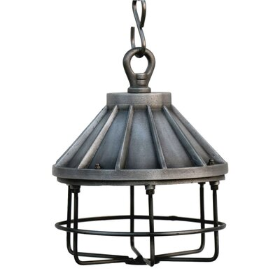 Marisha Industrial 1-Light Foyer Pendant