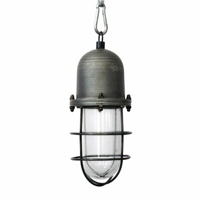 Miron Industrial 1-Light Foyer Pendant