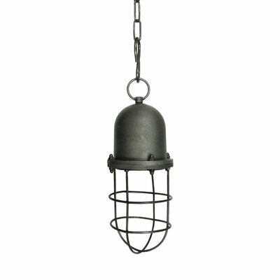 Osya Industrial 1-Light Foyer Pendant
