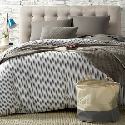 Deidra 100% Cotton 9 Piece Bed-In-a-Bag Set Size: Twin XL