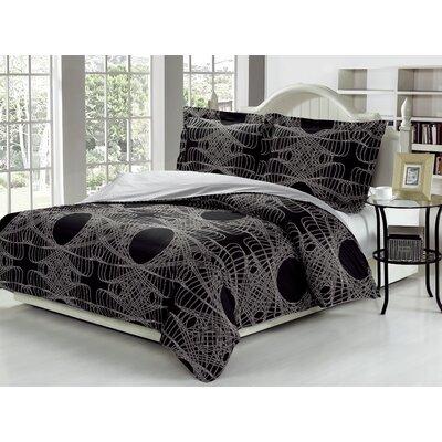 Callas 100% Cotton 3 Piece Duvet Cover Set F52AC6C67FB44F119F2188A3BE094368