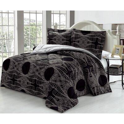 Callas 100% Cotton 3 Piece Comforter Set 38F27C0BBF954858B1233BBC43B54FF2
