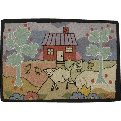 Island Farm Area Rug Rug Size: Rectangle 2 x 3