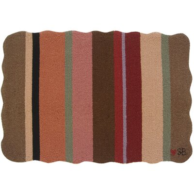 Yipes Stripes Novelty Rug Rug Size: Rectangle 2 x 3