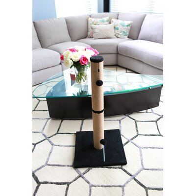 Jute Scratchers and Scratching Post Size: 41.25