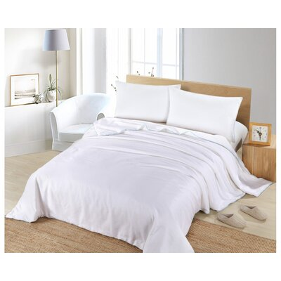Dotan Luxury Allergy Free Silk Comforter Size: Queen