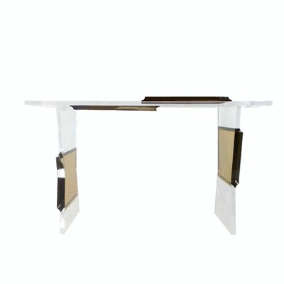Sigman Acrylic Console Table Color: Clear