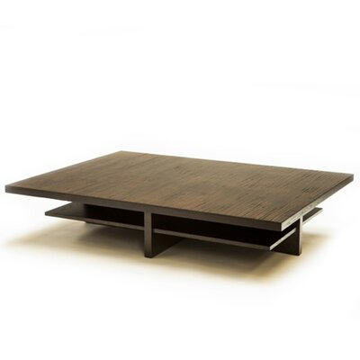 Siller Bamboo Coffee Table Finish: Ebony