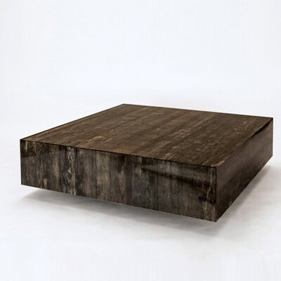 Coffee Table Color: Papaya Husk - Black
