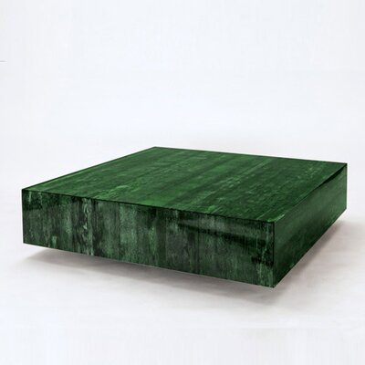 Coffee Table Color: Papaya Husk - Green