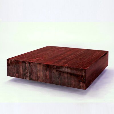 Coffee Table Color: Papaya Husk - Red