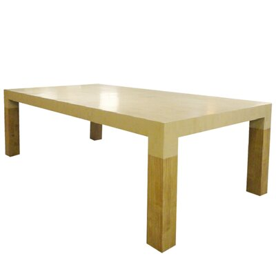 Dining Table Base Color: Bamboo - Ebony