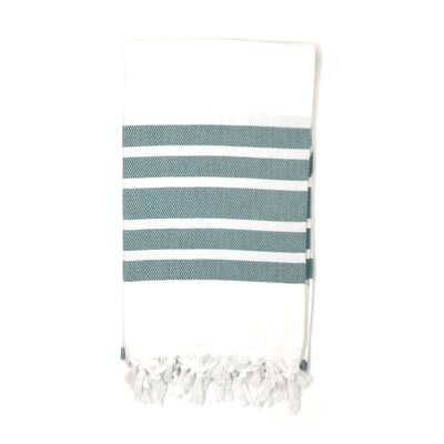 Luxury Pestemal Fouta Turkish Beach Towel Color: Green