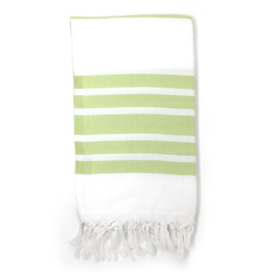 Luxury Pestemal Fouta Turkish Beach Towel Color: Light Green