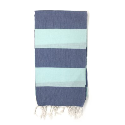Pestemal Sauna Luxury Beach Towel Color: Blue