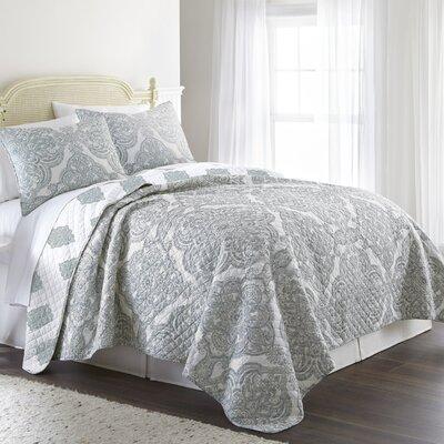 Abbeville Cotton Reversible Quilt Set Size: Full/Queen