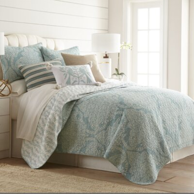 Abbey Cotton Reversible Quilt Set Size: Twin
