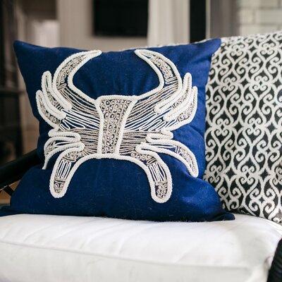 Ocala Coastal Crab Pillow case