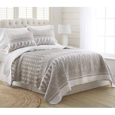 Sarramea 3 Piece Reversible Quilt Set Size: Full/Queen