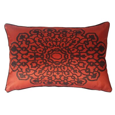 Charandeep Lumbar Pillow Color: Rust/Chocolate