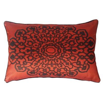 Charandeep Lumbar Pillow Color: Rust/Chocolate