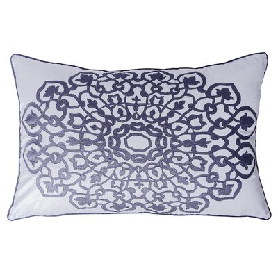 Charandeep Lumbar Pillow Color: Seaspray/Smoke