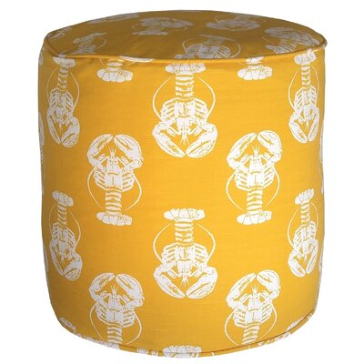 Atlantis Pouf Upholstery: Yellow