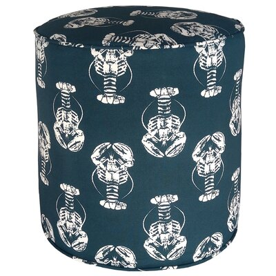 Atlantis Pouf Upholstery: Navy