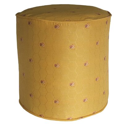 Quichocho Le Coq Gaulois French Country Pouf Ottoman Upholstery: Dijon