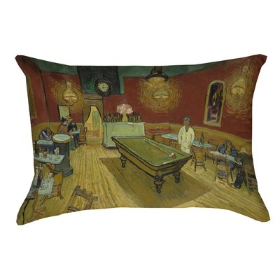 Burdick The Night Cafe Rectangular Lumbar Pillow