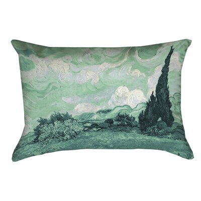 Amiee Green Wheatfield Lumbar Pillow Size: 14 x 20