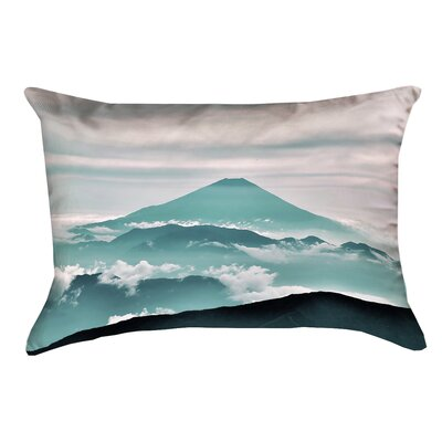 Hansard Fuji Linen Pillow Cover Color: Green
