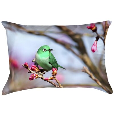 Carmina Smith Bird Linen Pillow Cover