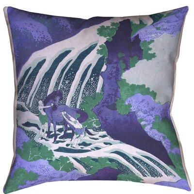 Horse Waterfall Outdoor Lumbar Pillow 236 Product Image
