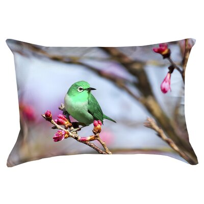 Carmina Smith Bird Lumbar Pillow