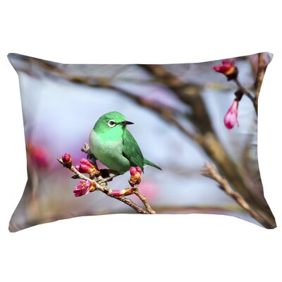 Carmina Smith Bird Double Sided Print Cotton Pillow Cover