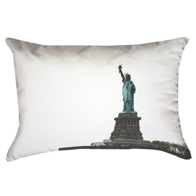 Statue of Liberty Double Sided Print Rectangular Pillow Cover with Down Alternative Product Type: Pillow Cover