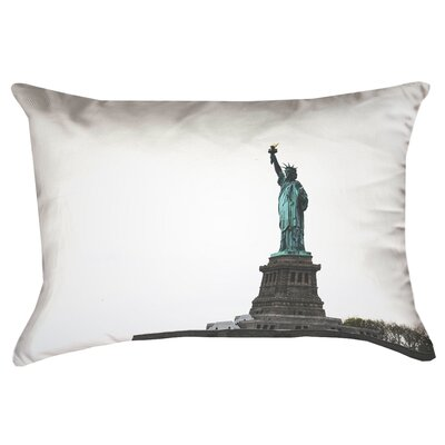 Statue of Liberty Double Sided Print 100%Cotton Lumbar Pillow Product Type: Pillow