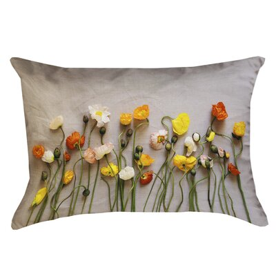 Tuyen Dried Flowers Double Sided Print Lumbar Pillow