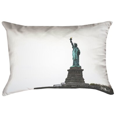Statue of Liberty Double Sided Print Lumbar Pillow Product Type: Pillow