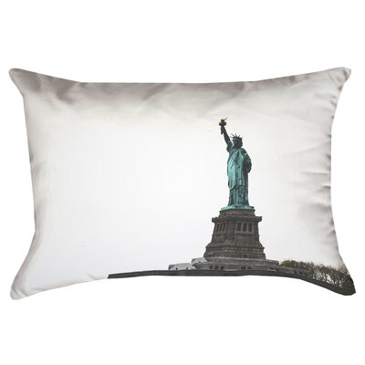 Statue of Liberty Double Sided Print 100%Cotton Lumbar Pillow Product Type: Pillow Cover