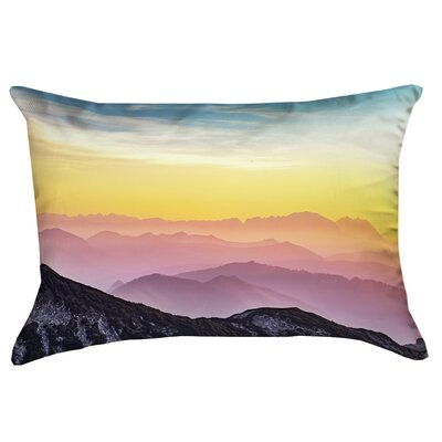 Thang Pastel Landscape Double Sided Print 100% Cotton Lumbar Pillow Product Type: Pillow